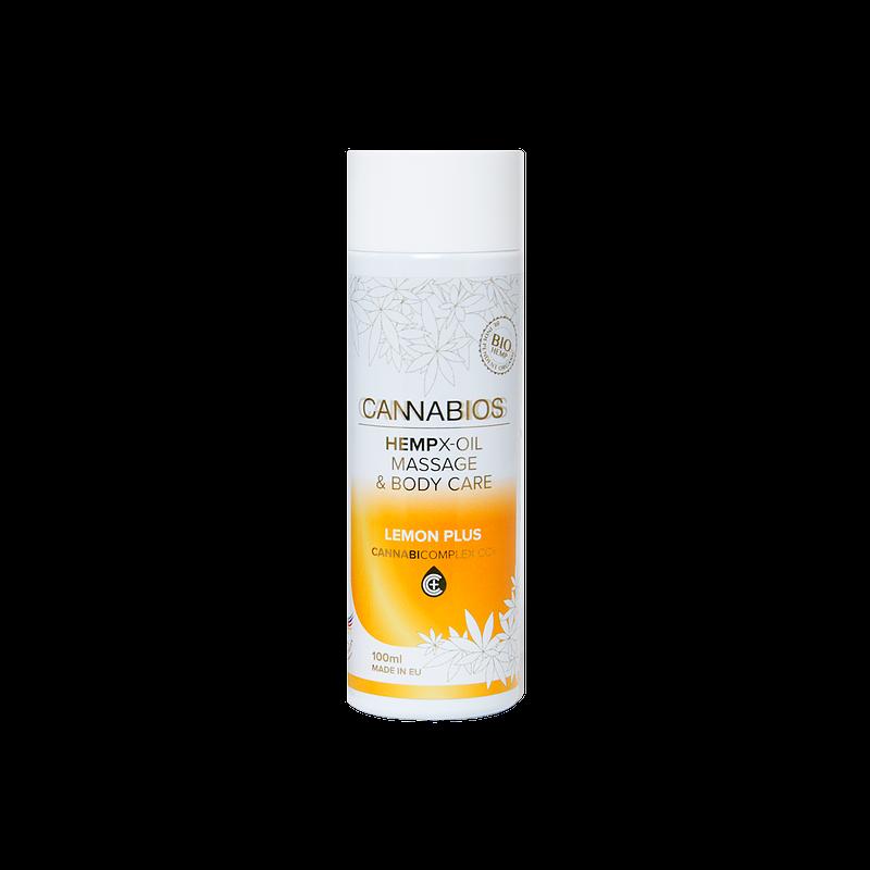 huile-de-massage-citron-cannabios-100ml-cannabinoid-complex-cc